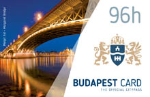 the margaret bridge at the blue hour and the city's crest on the 96h card