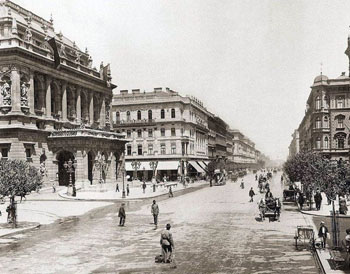 Andrássy Av. and the Opera House anno