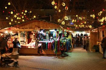 Budapest Christmas Fair 2017. Vörösmarty Square