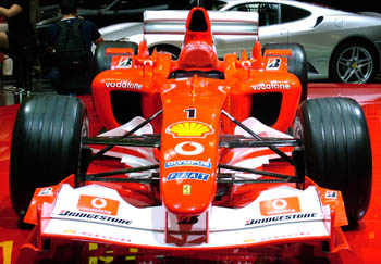 a red formula1 race car