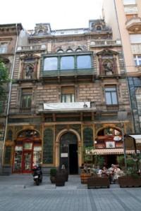 the terrace and main facade of the Mai Mano House