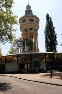 Open-Air Stage & the Water Tower, Margaret Island