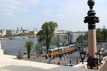 View of Pest from Castle Bazaar