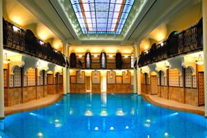 spa facilities in Hotel Gellert