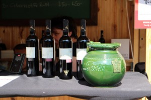 4 bottles of red wine from Tuske Pince/Szekszard