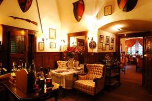 inside the Alabardos Restaurant