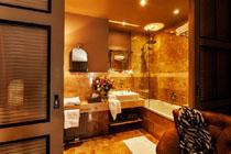 Bathroom in Baltazar Budapest
