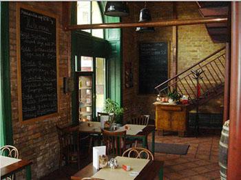 inside Borbíróság Restaurant