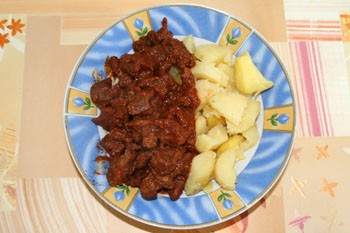 Hungarian mutton stew