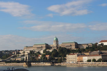 the Castle District of Buda, as seen from Pest