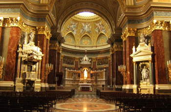 main altar in the Basilica