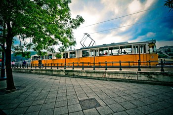 Tram 2 - along the Danube in Pest