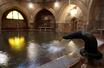 the Kiraly turkish spa inside