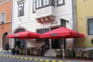 terrace of cafe Pierrot