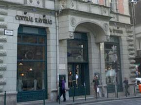 Centrál Cafe on Karoly korut