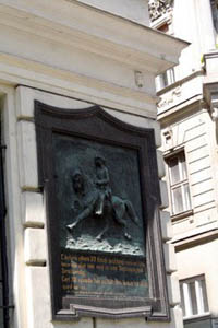 Charles XII plaque