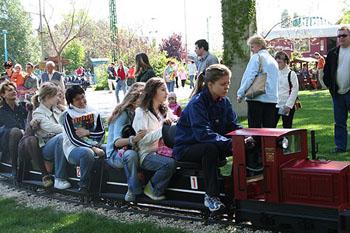 kids on the Children railway