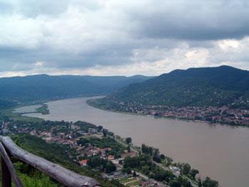 The Danube Bend at Visegrád