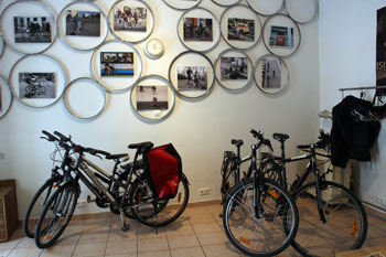 Bikes to rent in dynamobake