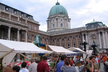 Wine festival in Buda castle