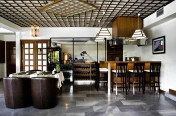 Fuji restaurant inside