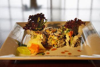 rice dish in Fuji Budapest