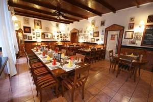 tables set in Fulemule restaurant