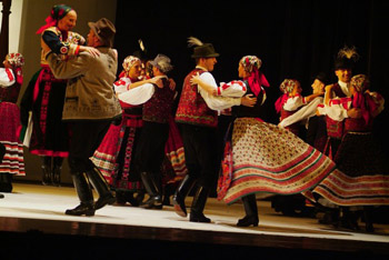 Dance of the Hungarian State Folk Ensemble