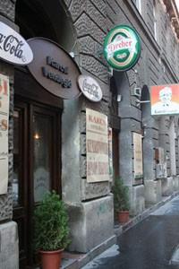 Karcsi Restaurant from outside