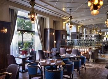 inside Kollazs Brasserie