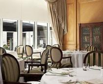inside Le Bourbon restaurant