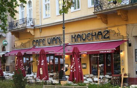 terrace of Cafe Vian