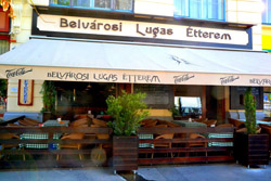 Lugas restaurant by the Basilica