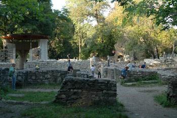 Ruins on Margitsziget
