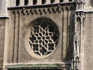 rose window on Matthias Church