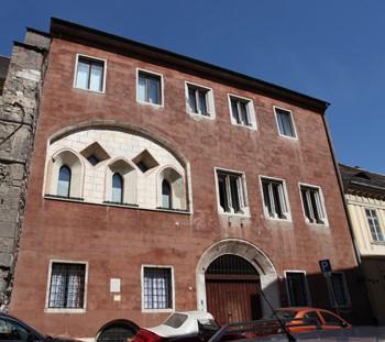 Medieval Jewish Prayer House in Tancsics Street Buda