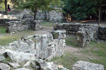 grey stone ruins