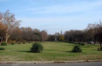 Népliget park in early autumn