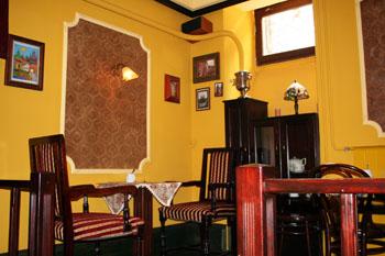 inside Praga Coffee House