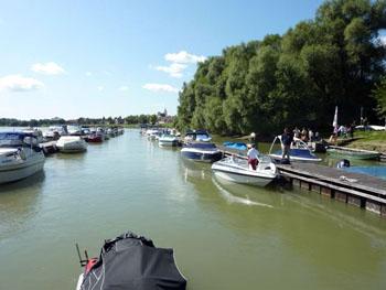 boat dock in Szentendre