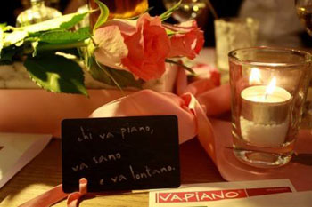 inside vapiano in MOM Park