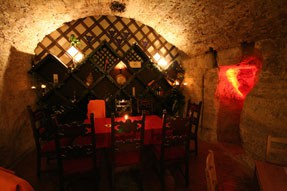Wine Tasting in the Faust Cellar
