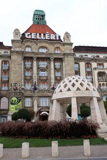 Gellért Hotel front view