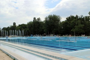 main swimming pool, Palatinus Bath