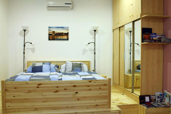 Bedroom in a Katona Apartment
