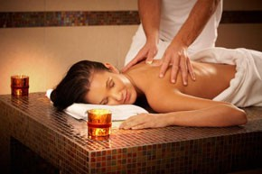 Relaxing Massage in a Day Spa
