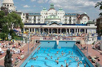 Gellért Thermal Bath-Open-Air Pools
