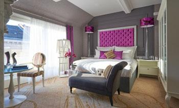 La Traviata suite in Aria Hotel