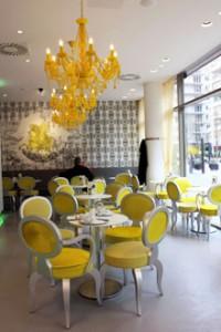 interior of the Wiener Salon
