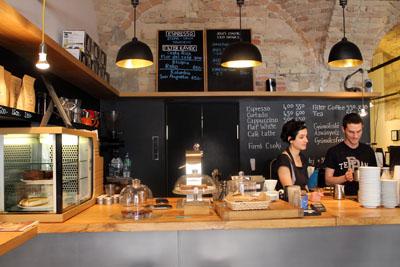 the two baristas in Espresso embasy